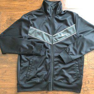 Nike mens black track jacket size L